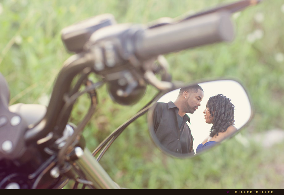 motorcycle mirror engaged love pictures