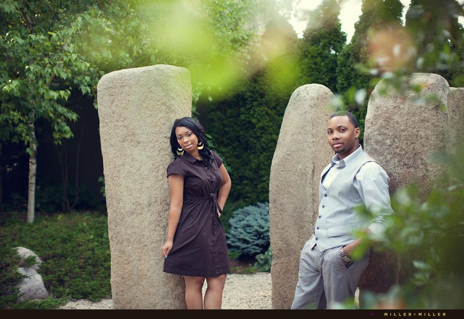 stone hedge rock garden flirty engagement