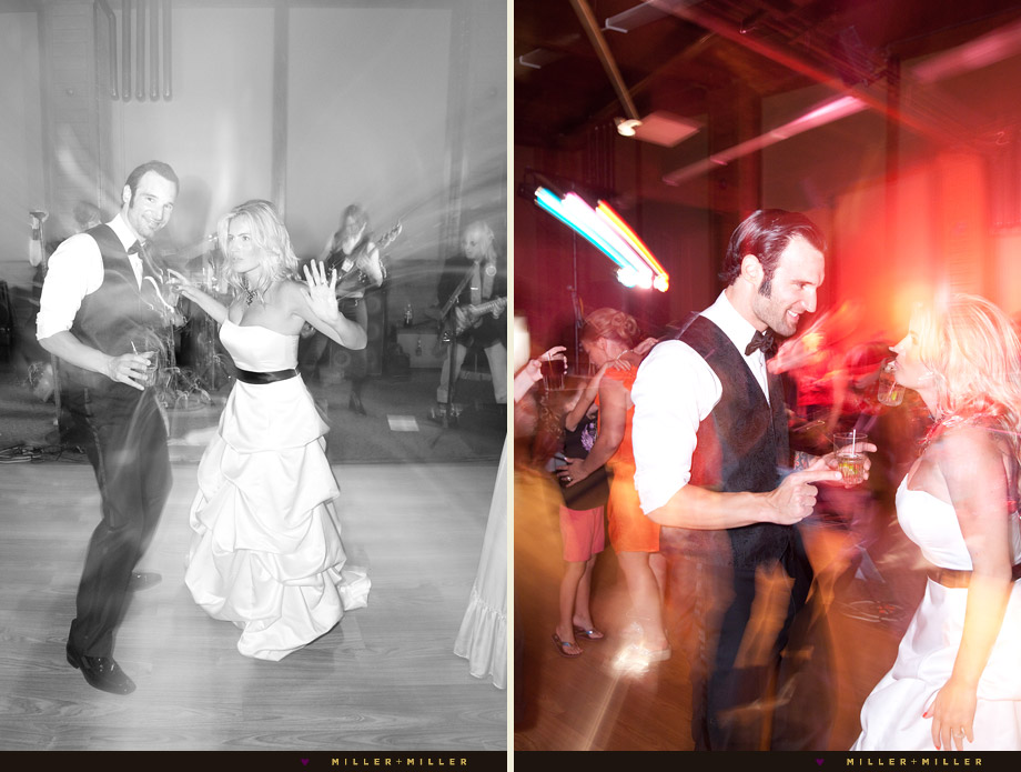 awesome live band wedding reception pictures