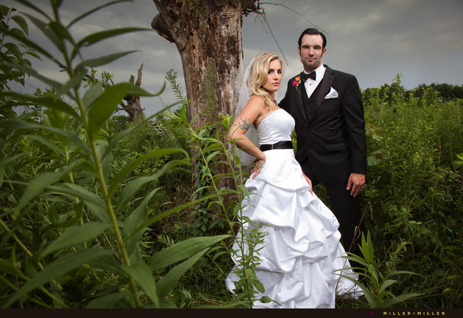 starved rock canyon wedding pictures