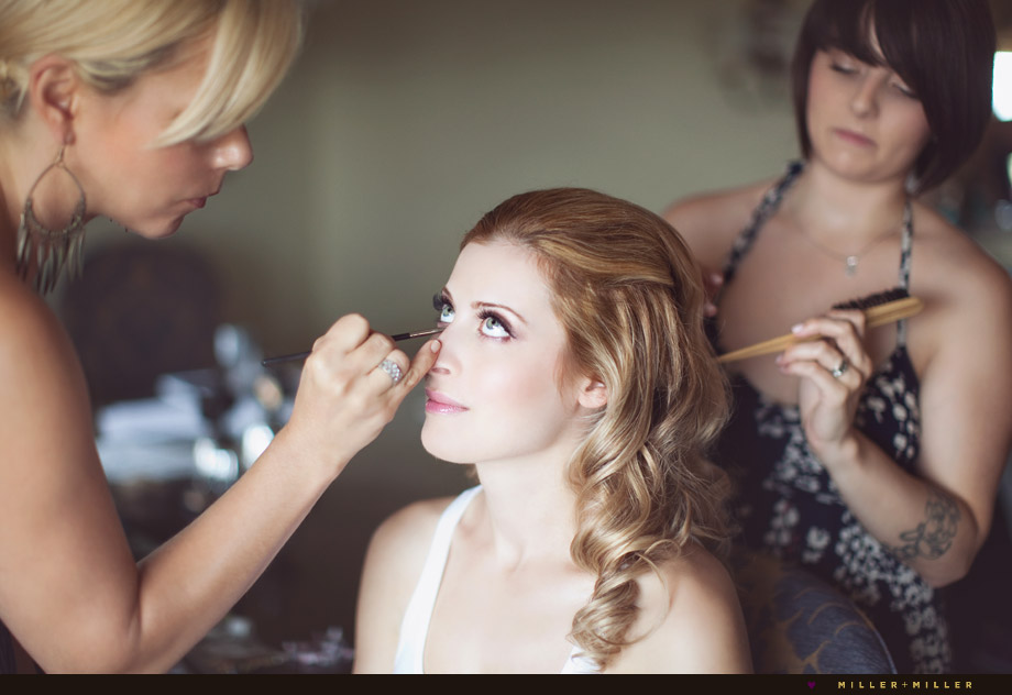 bride hotel room make up pictures