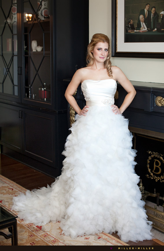 modern bride photo portrait