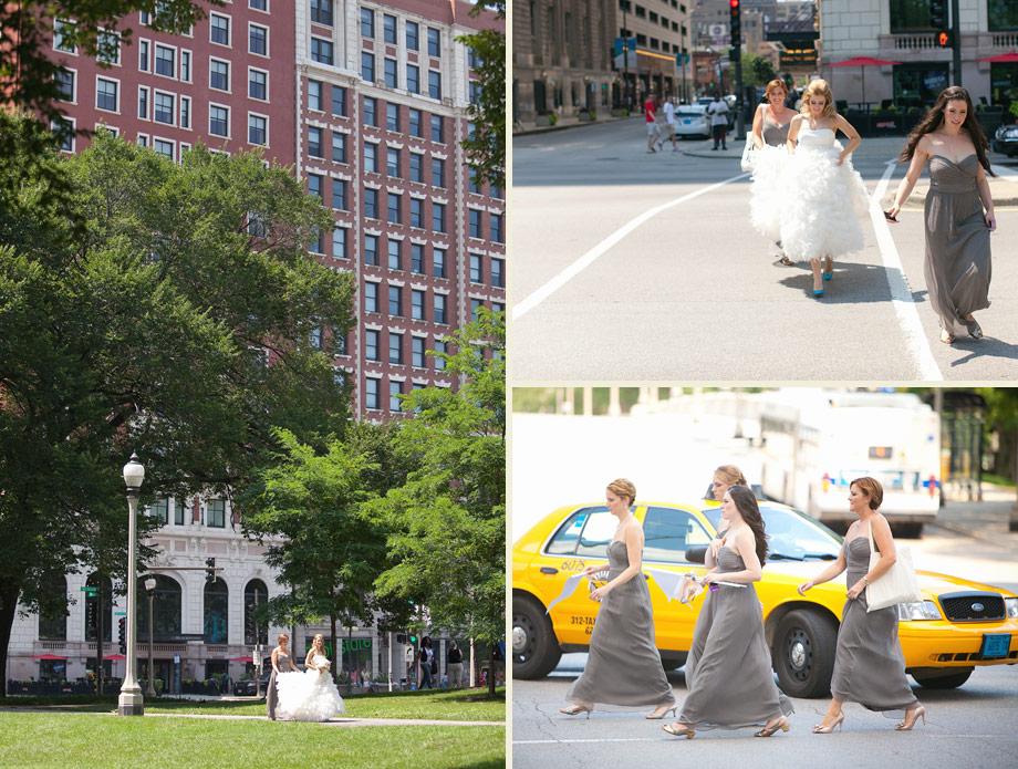 urban michigan avenue wedding