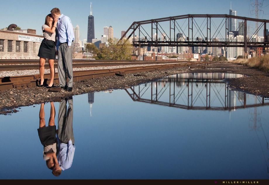 chicago engagement photo session