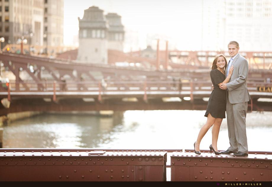 clark street bridge photo