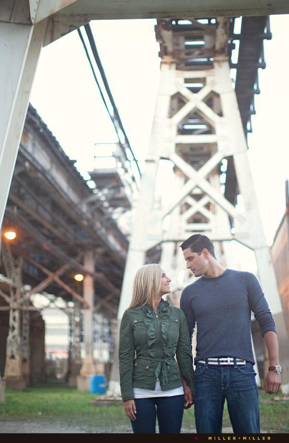 couple l rail tracks photographs