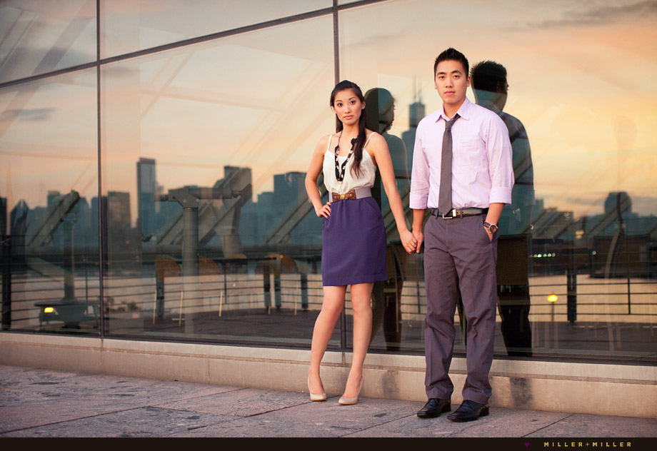south loop engagement pictures