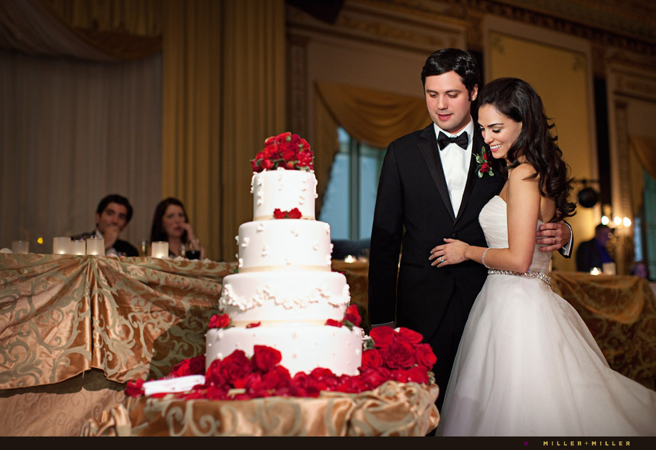 palmer house empire room cake cutting