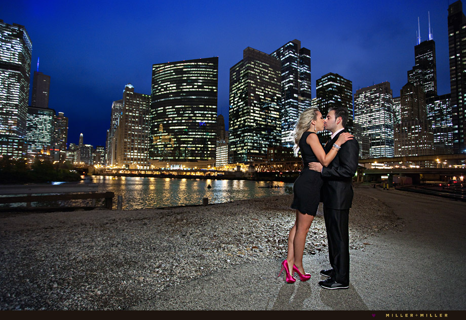 wedding photography Fulton's on the River chicago