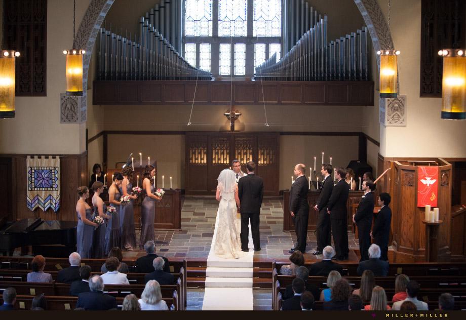 vintage church ceremony