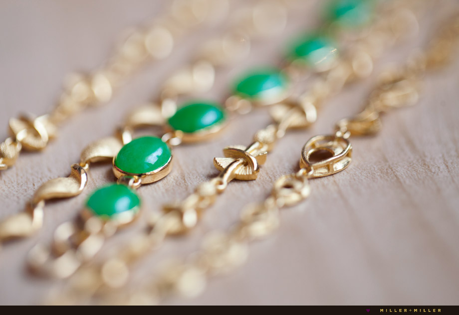 green jade gold chinese hong kong wedding jewelry