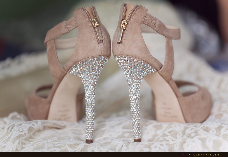 jimmy choo tan crystal heels