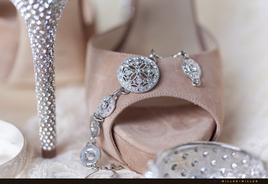vintage glam bridal jewelry