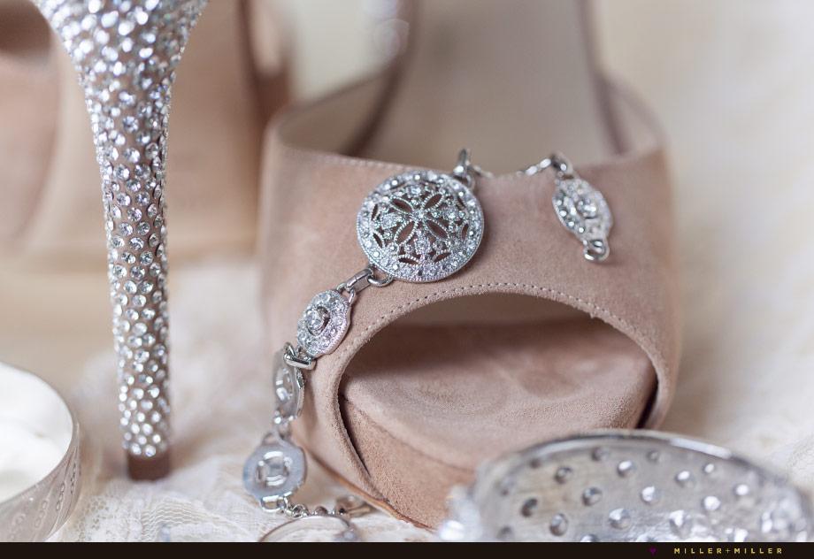 vintage glam bridal jewelry