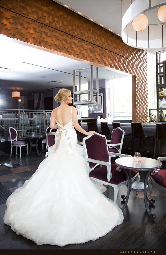 chicago dramatic wedding photos