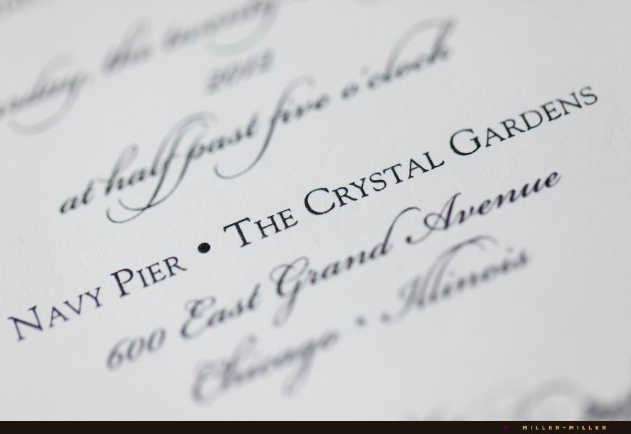 crystal gardens smitten boutique invitation