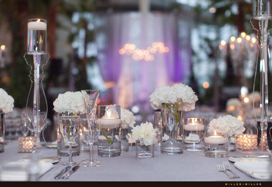 elegant chicago loft reception