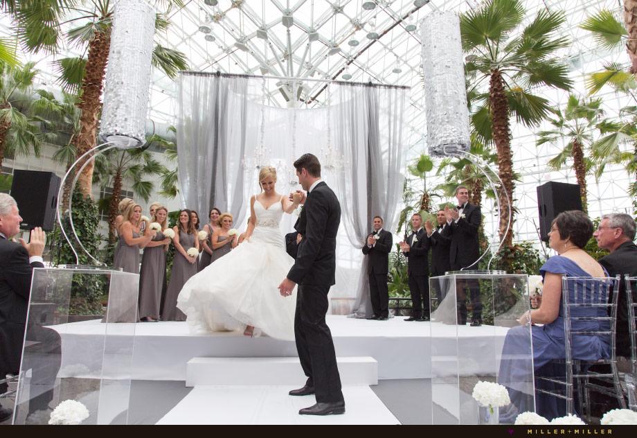 Tim Morgans Crystal Gardens Chicago Navy Pier Wedding