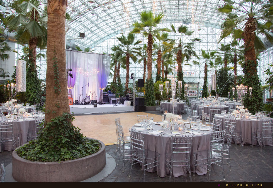 navy pier crystal gardens wedding