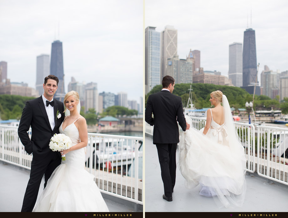 romantic waterfront dock reception