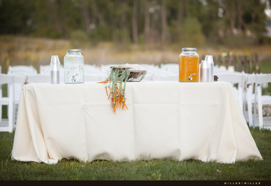 chic rustic wedding pictures pottery barn
