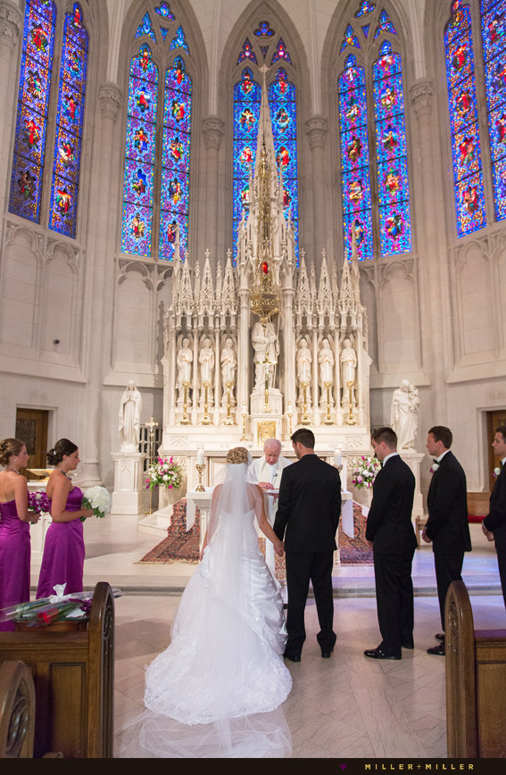 gold coast ceremony french gothic revival chapel