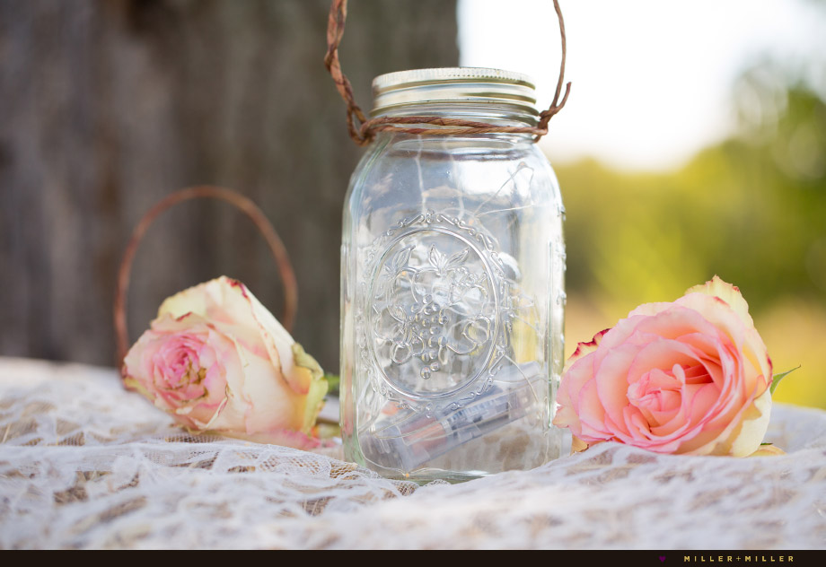 magical hanging ball glass mason jar