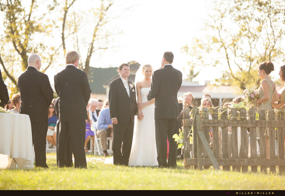 vineyard outdoor ceremony