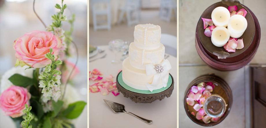 vintage petite cake stand elegant reception ideas