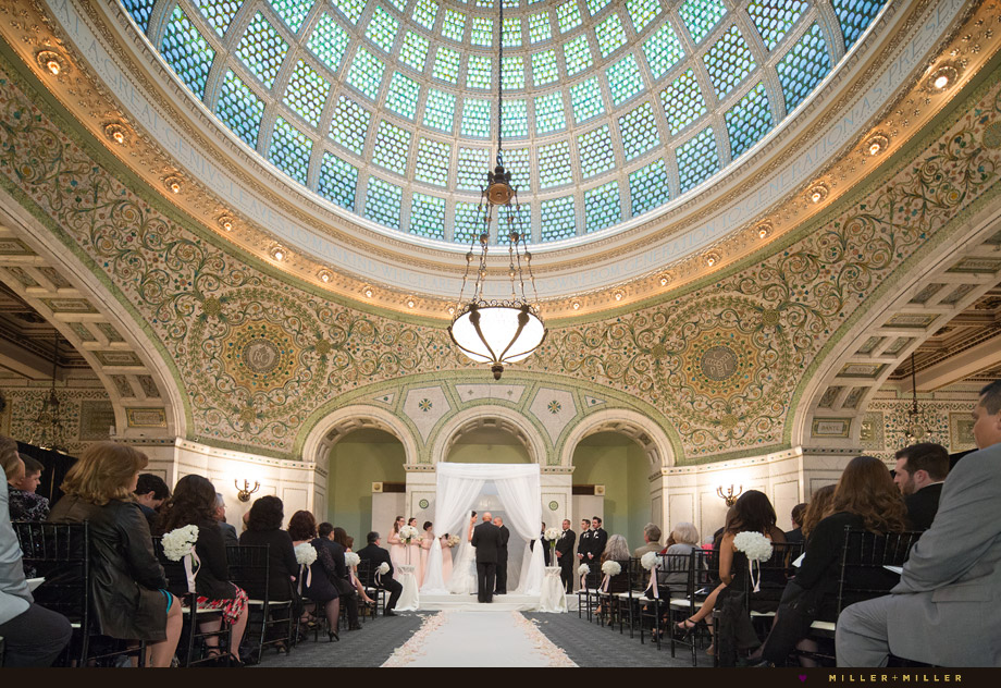 ceremony at chicago cultural center
