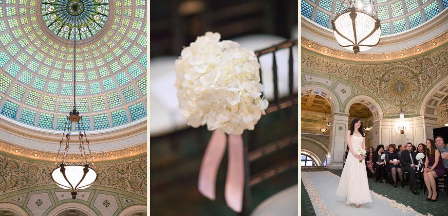elegant ceremony historic landmark building