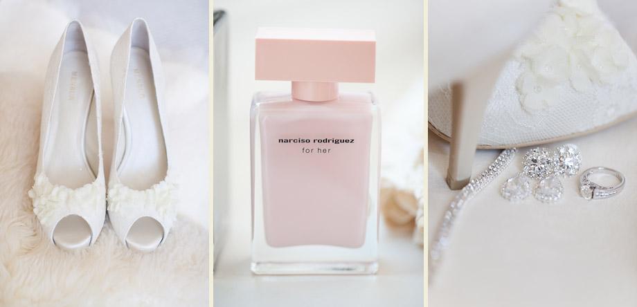 ivory white lace blush pink