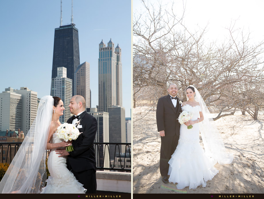 public chicago hotel rooftop ceremony