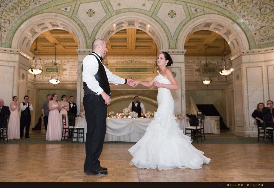 reception cultural center preston bradley hall