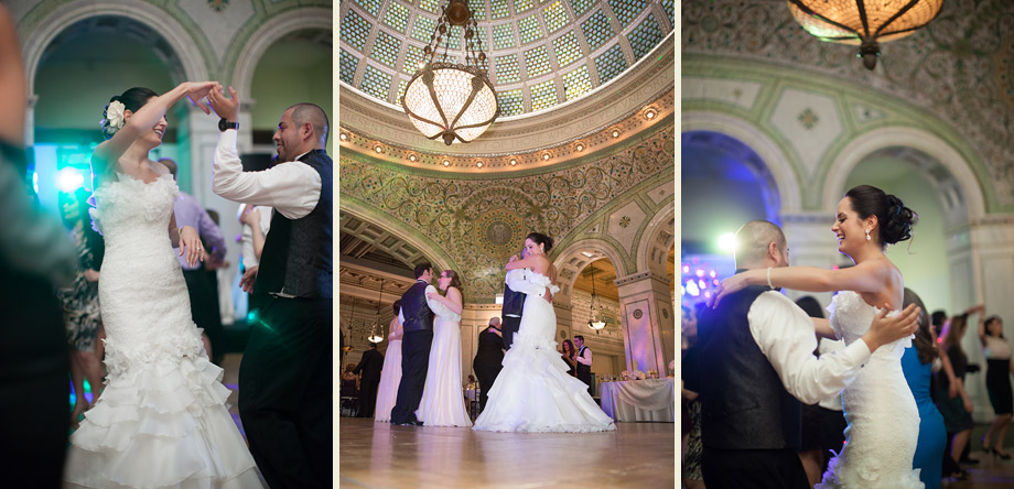 stained glass mosaic elegant historic ballroom
