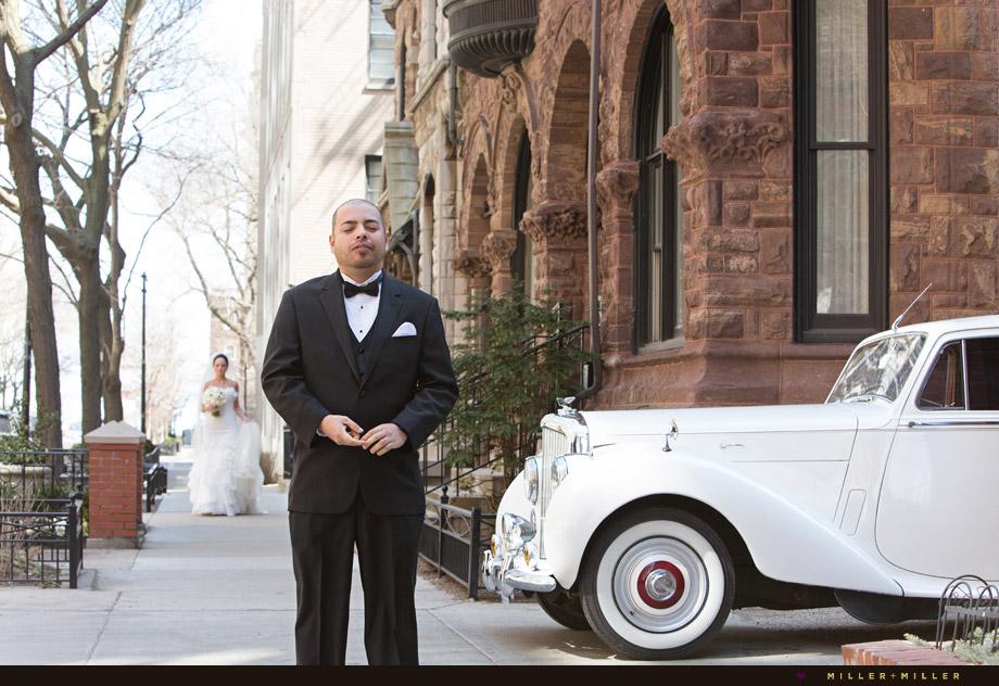 vintage Bentley urban brownstone residences