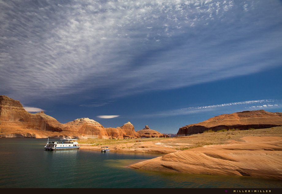 house boating lake powell