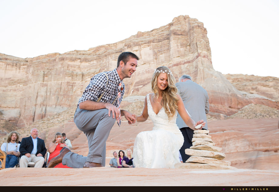 Lake Powell Padre Bay wedding