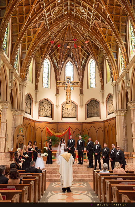 holy name cathedral Chicago wedding