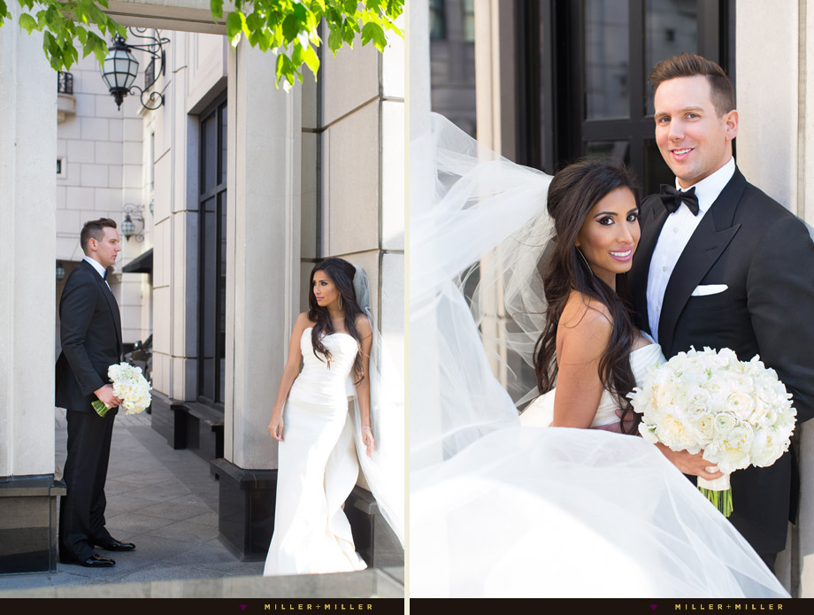 luxury hotel bride groom Chicago