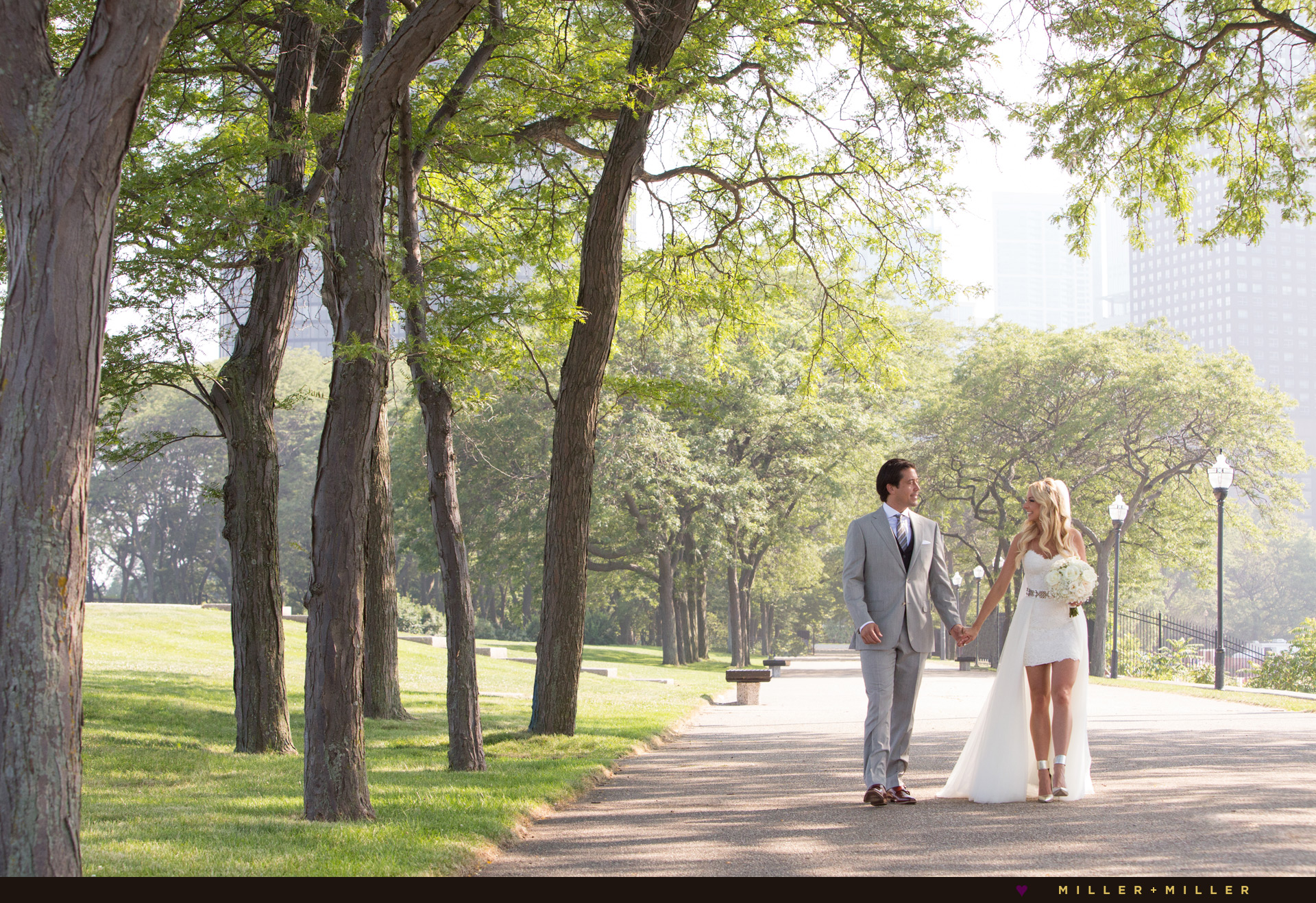 Chicago wedding photographs