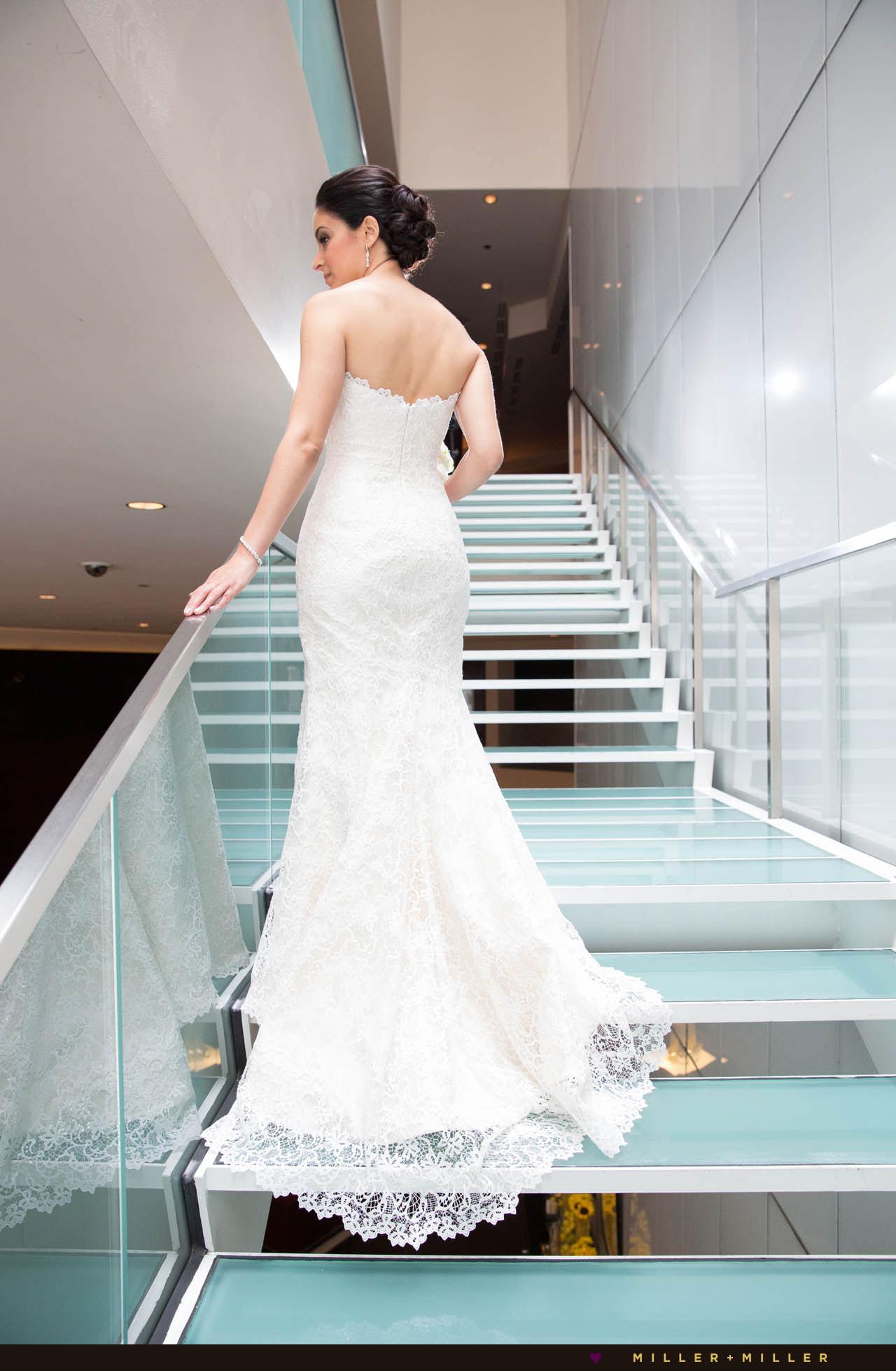 bride stairs Sofitel