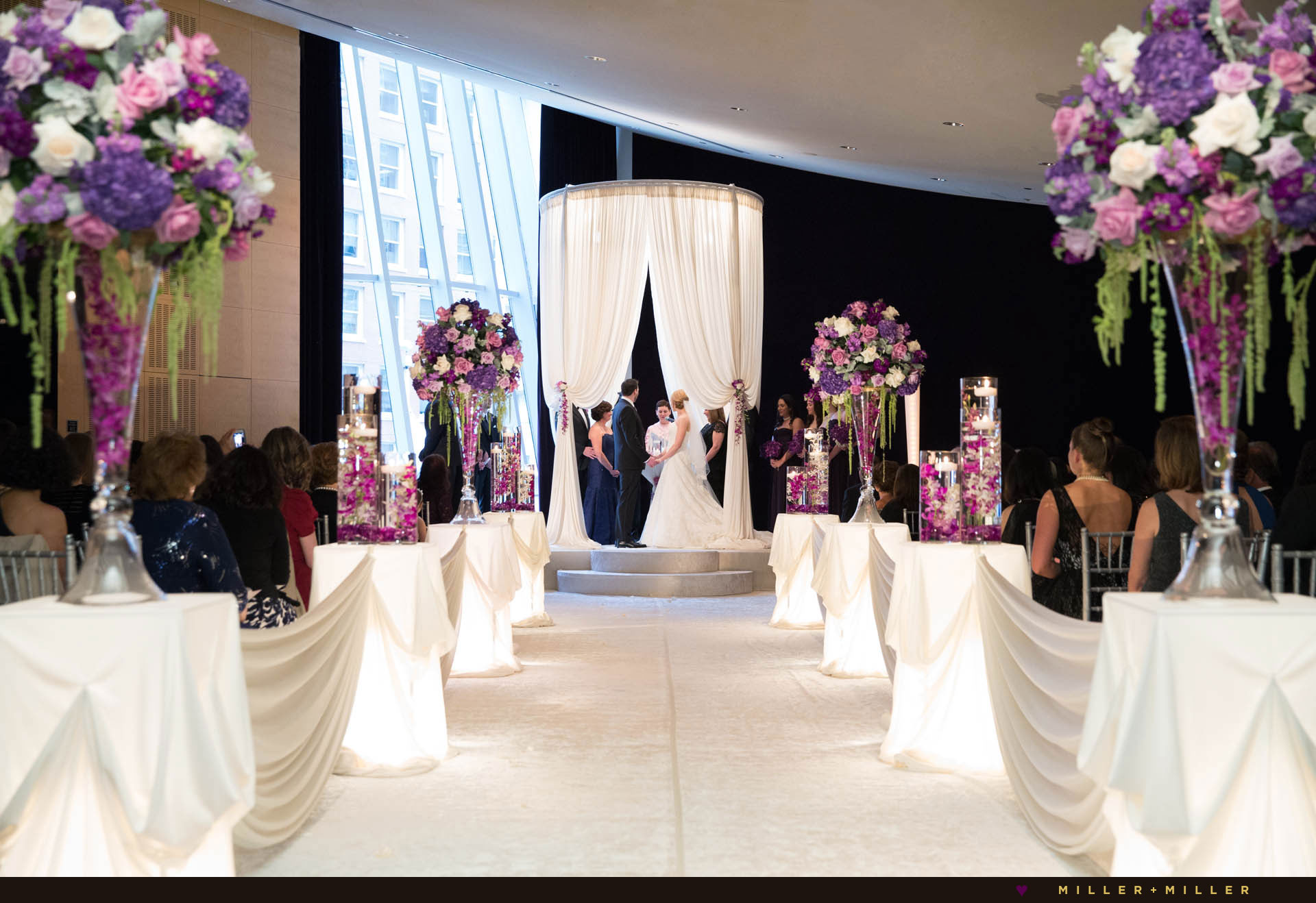 Chicago Sofitel jewish wedding ceremony venue