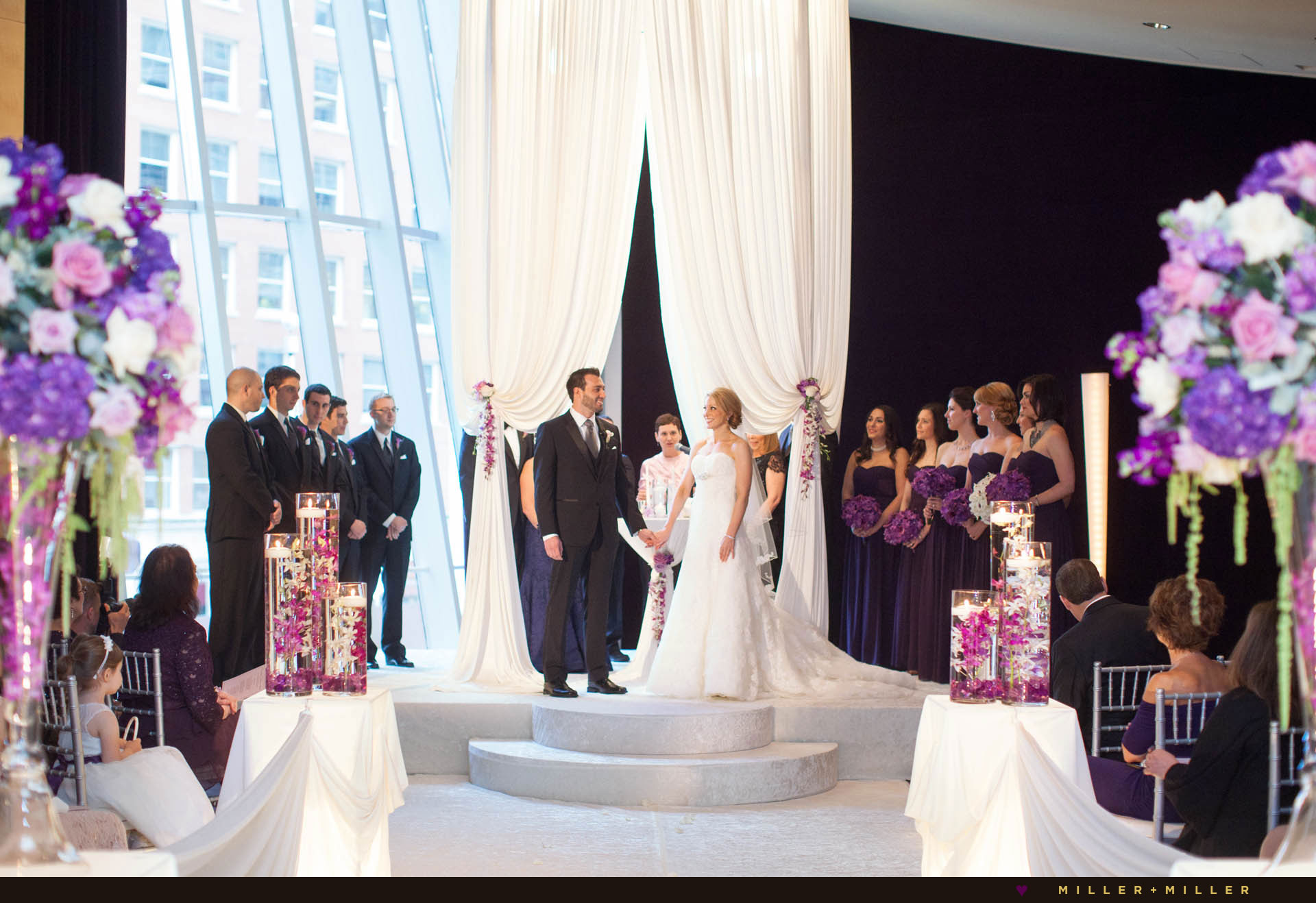 Chicago Sofitel wedding ceremony