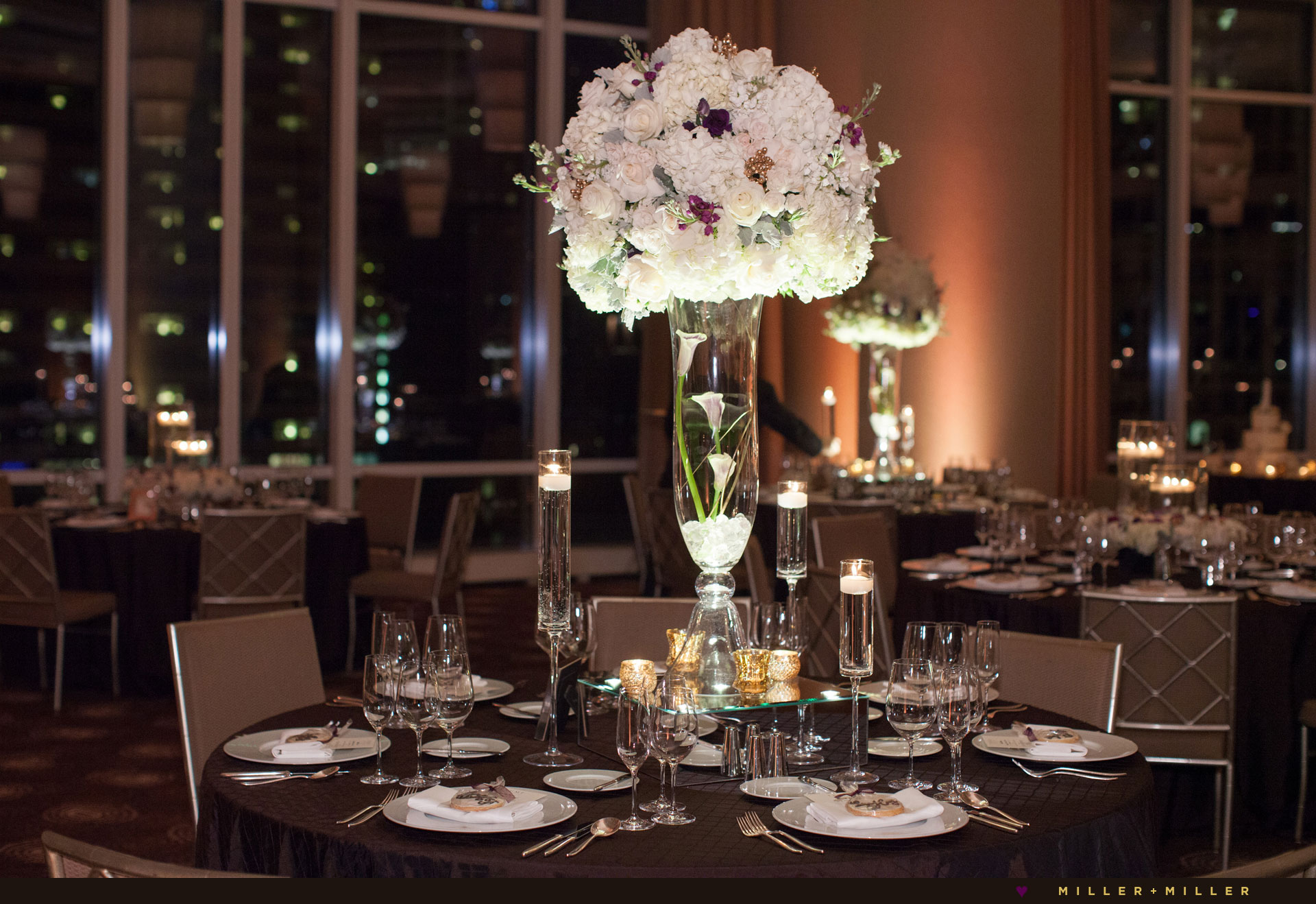 luxury wedding reception Chicago