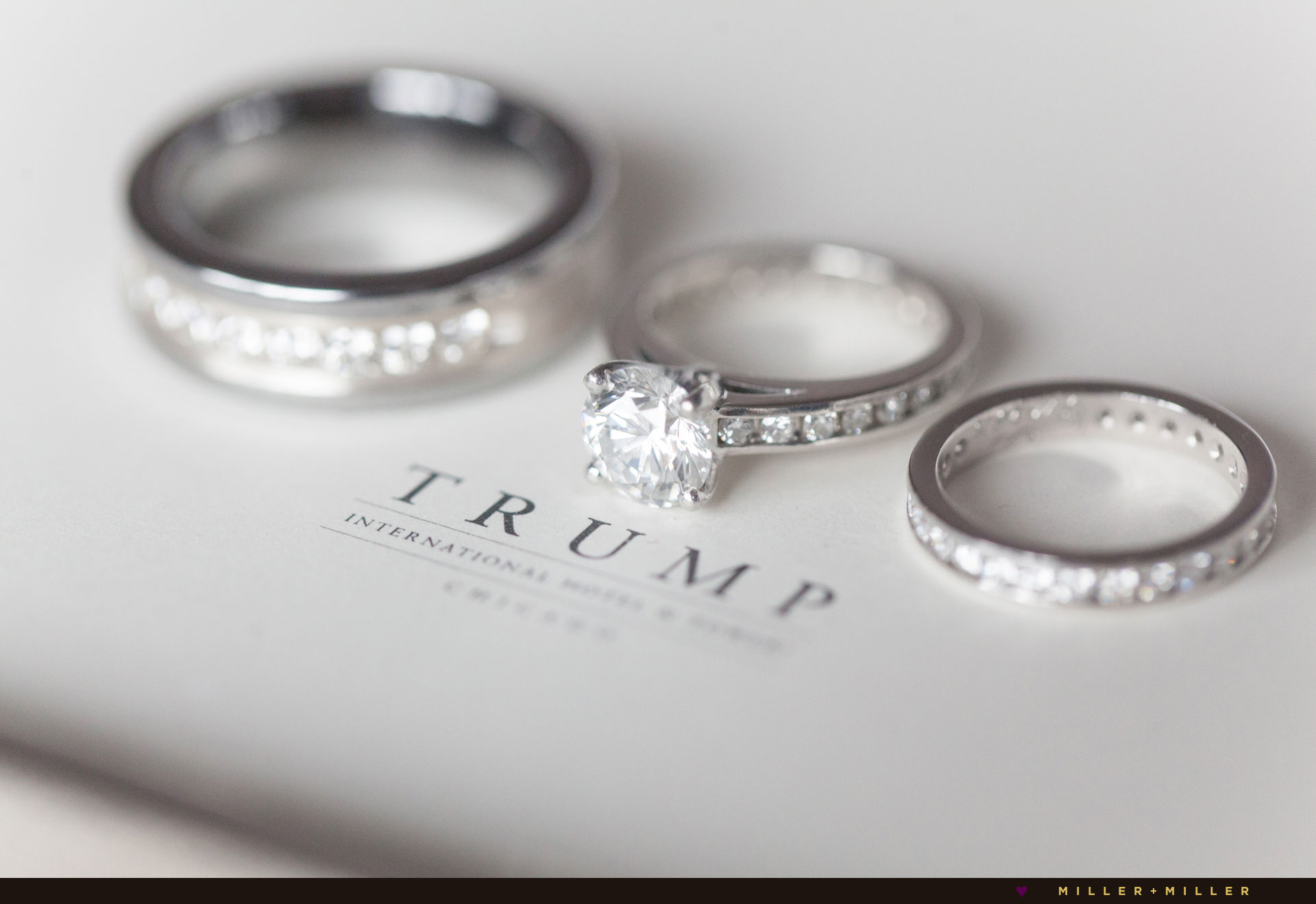 married at Trump International Hotel