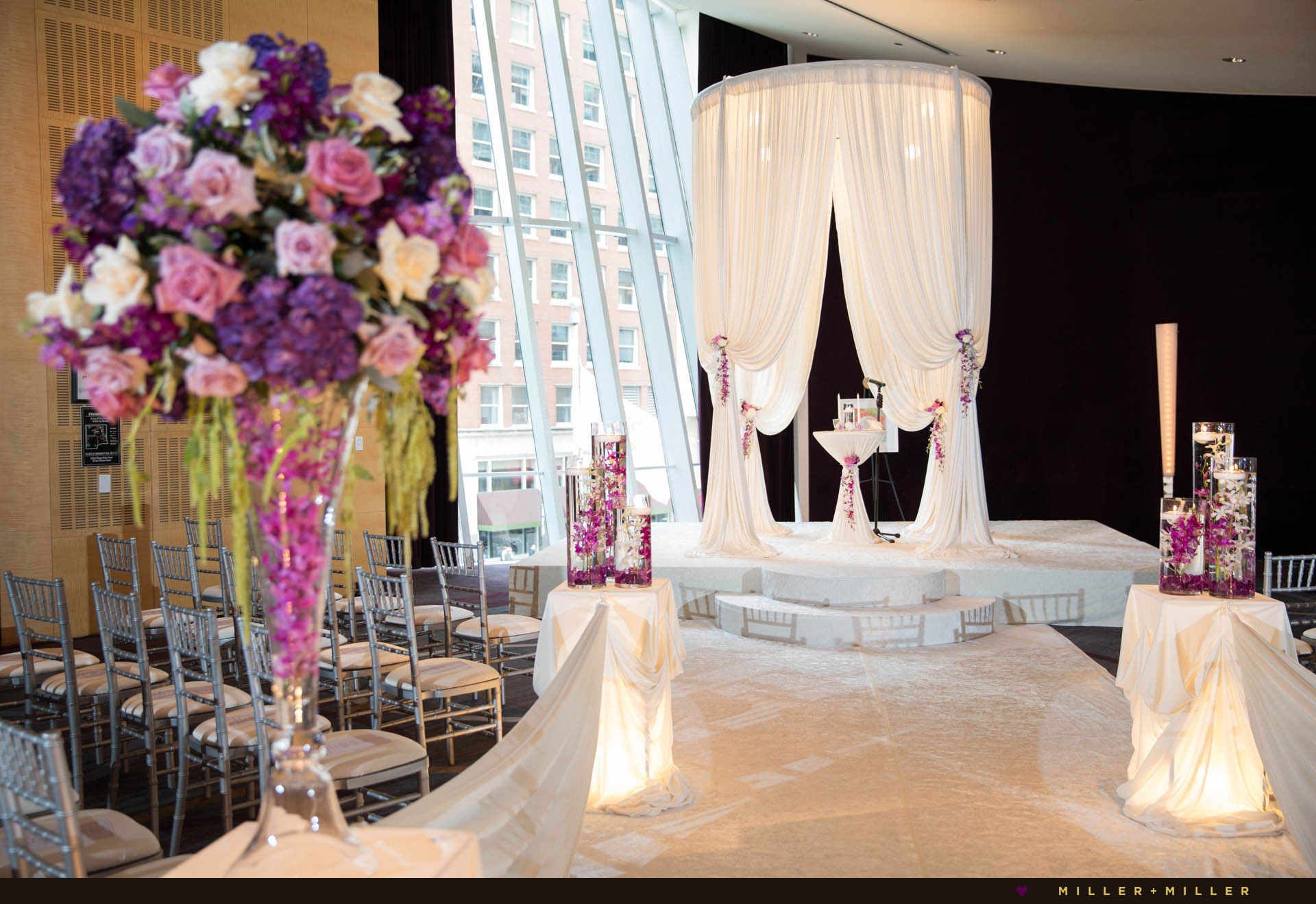 Sofitel hotel Chicago wedding ceremony