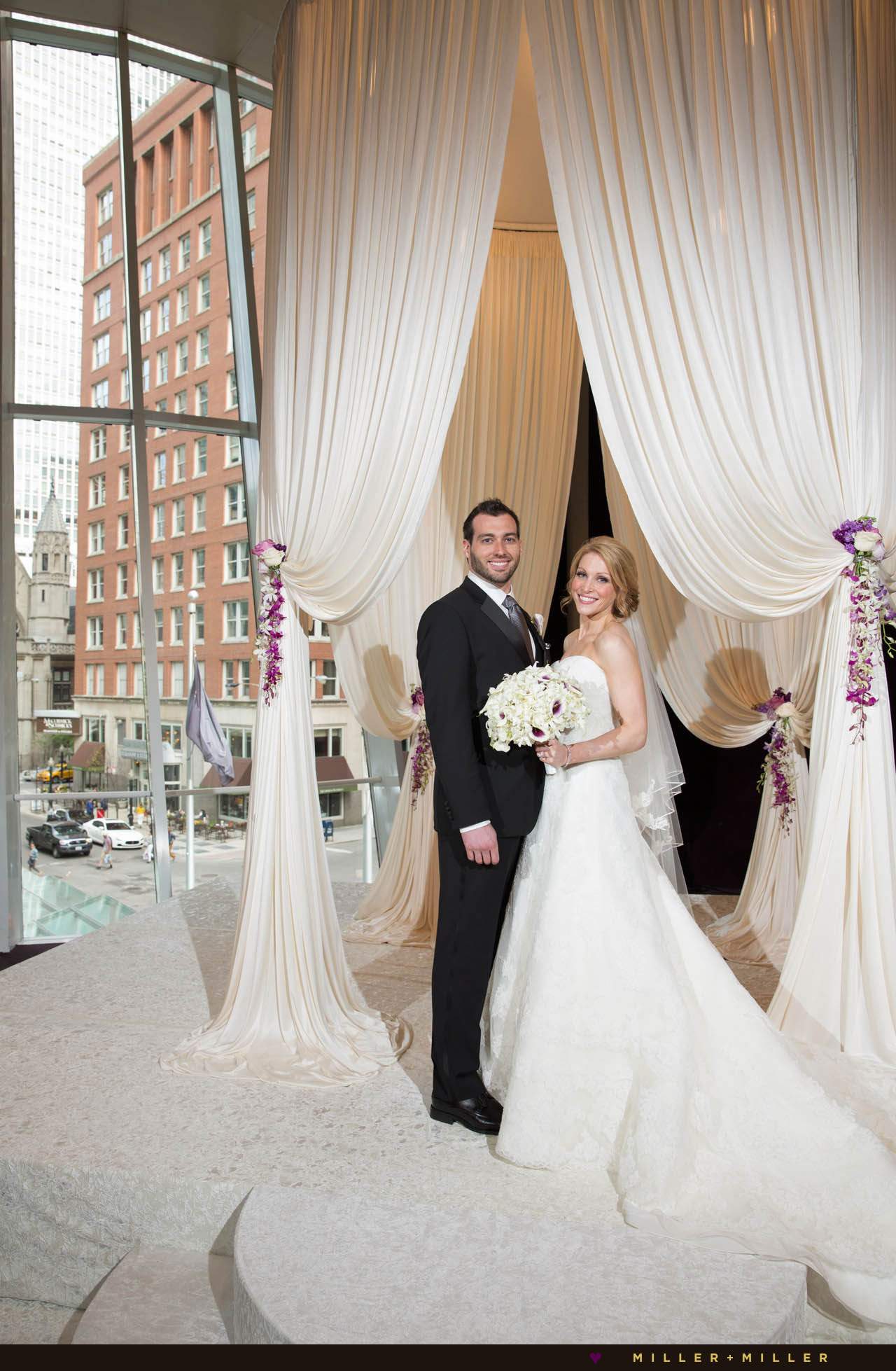 Sofitel hotel Chicago wedding