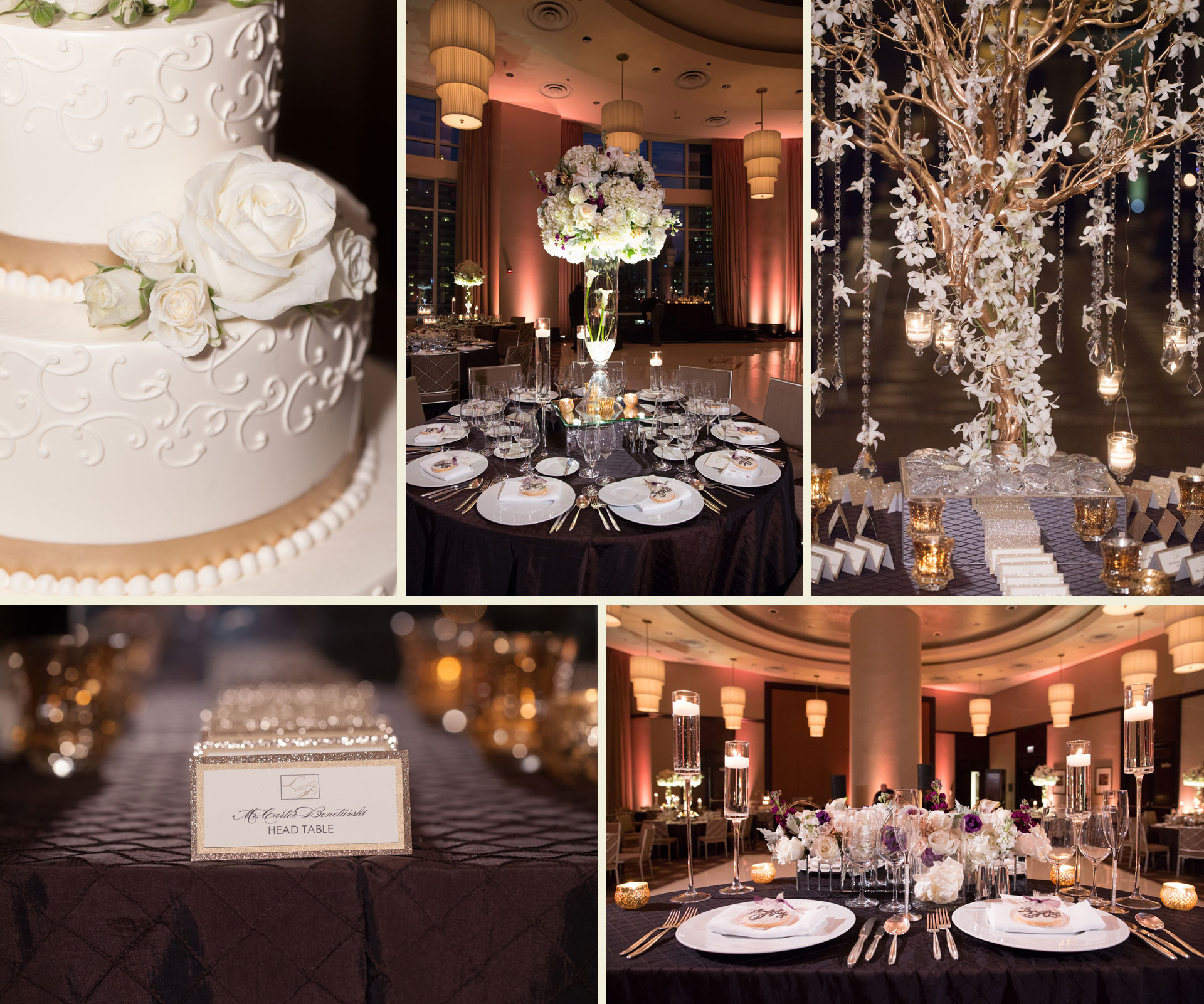 Trump hotel Chicago wedding photography