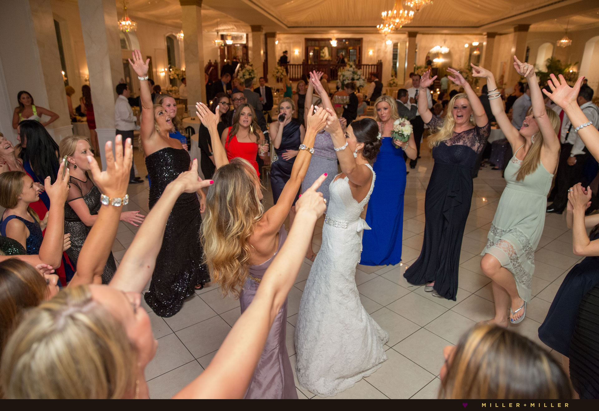 Joliet Chicago mansion dance floor photography